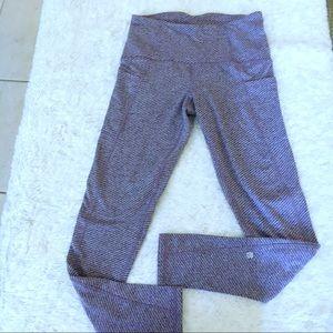 Champion lavender & gray herringbone leggings